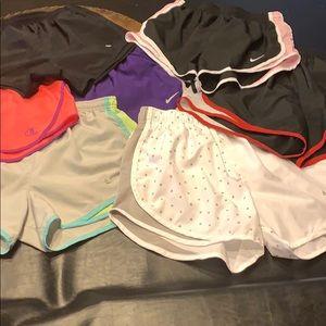 7 Nike shorts!!!💕